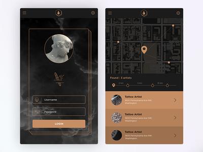 """""""Tattoo App"""" Project"""