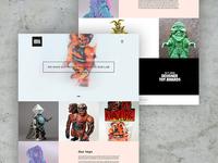 Creatoys Homepage