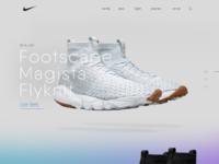 Nikeair footscape flyknit magista