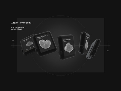 33lab. Watch-Pt.2 concept 33lab interactive experimental design frenchship ui visuals watch apple line
