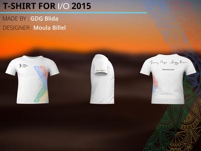 Google I/O T-shirt participation 2015