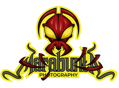 marabunta Photography with badge (solid color)