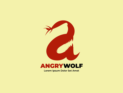 AngryWolf Logo Concept