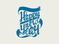 Happy New Year Handlettering