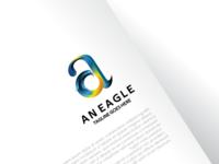 An Eagle Logo Concept Apply on Media