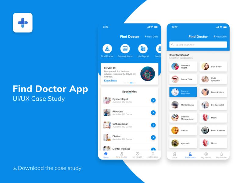 Find Doctor App