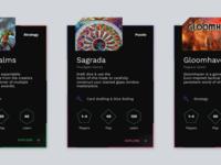 Board Game Digital Cards