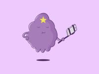 Lumpy Space Princess Selfie