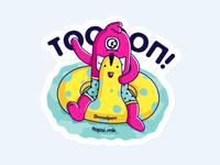 topsi.mk Sticker #2