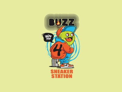 BUZZ Sticker Design #1