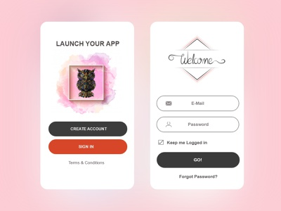 login app design app design app login design simple simple design ui design graphics design