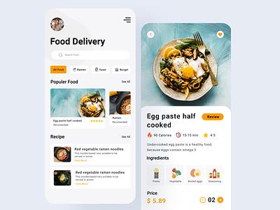 Food Delivery App Design app design app mobile app design mobile app mobile ui mobile graphics design design