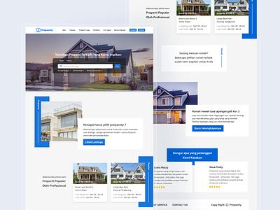 Property Landing Page designproperty property web designweb webdesign realestate ux ui branding simple design graphics design design
