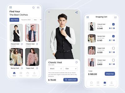 Ecommerce App appstore designapp app ux ux apps illustration branding simple design graphics design design