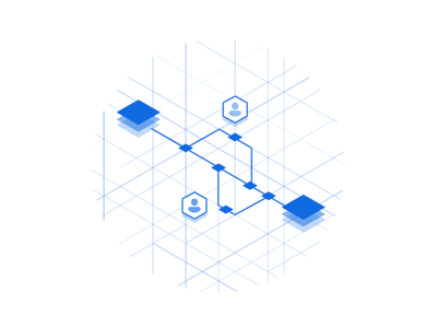 Terraform enterprise graphic by jt dribbble for Hashicorp careers