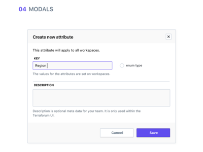 Modal product guides modal ui