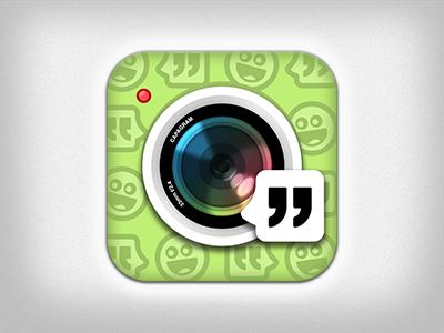 Capagram Icon icon app ios iphone camera