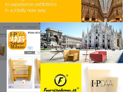 IPDAA Virtual Events 2015 Salone Milano augmented reality fuorisalone application milan forniture events 2015 design