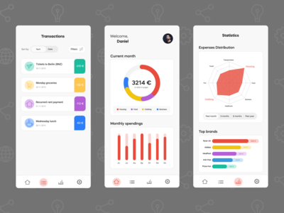 Personal Financial Management - Mobile App