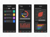 [Dark Mode] Personal Financial Management - Mobile App