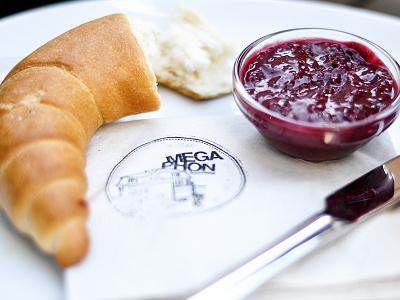 Das Auschlössl / Stamp bar restaurant café lunch branding interior stamp corporate design food editorial menu