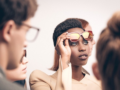 First Result of Fashion Shoot for AWE by Andy Wolf Eyewear ad campaign 2015 fall lookbook shooting photography glasses frames austria