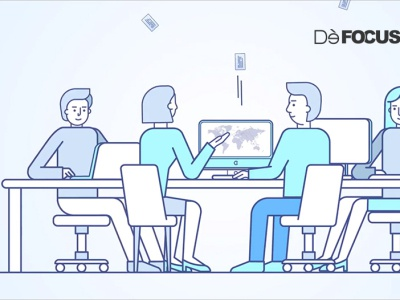 Strategic brand design - Defocus video 3d design defocus