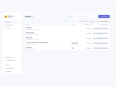 EditMode Web App dashboard product-design cms web-app web app ux ui