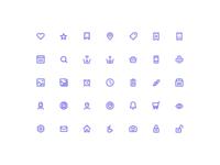 Ticketfly UI Icons