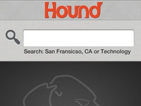 Hound mobile app