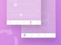 iOS Tab Bar - Sketch freebie