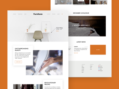 Furniture maker - Homepage