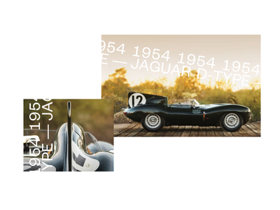 Timeless 2 layout book design type d jaguard