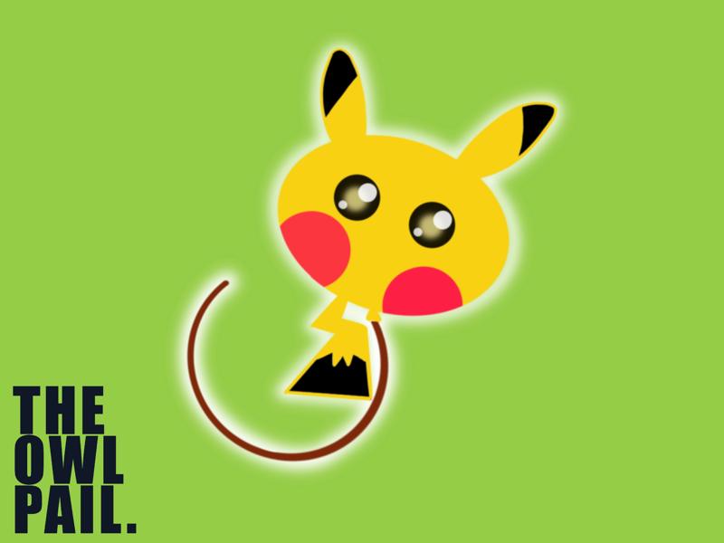 Pikachu Balloon childhood smile adorable japan children procreate ipad illustration cute balloon pokémon