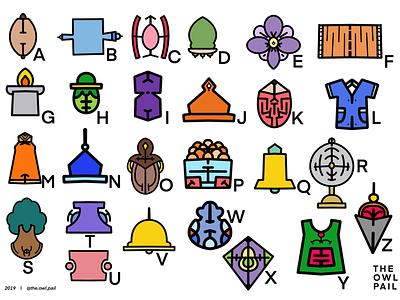 A Robotic Mind simplicity curves lines robotic procreate ipad illustration icons