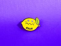 Sour Enamel Pin