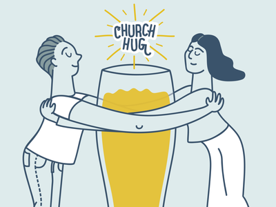 Church Hug Beer