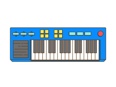 gene's keys wip flat not really a piano piano keyboard gene bobs burgers