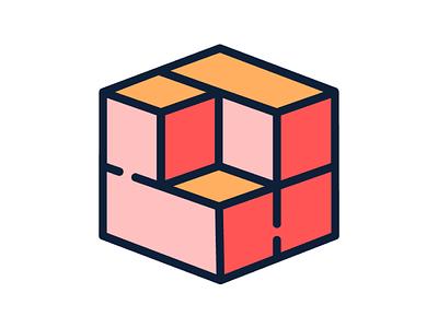 mortar bricks data react opensource webdev web cube logo javascript mortar