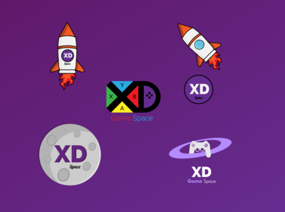 XD Space Logo Design