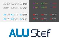 Alu-Stef Logo Design