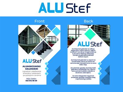 Alu-Stef Flyer Design