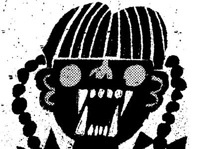 The Bad Seed horror movie fakeadsforrealmovies illustration