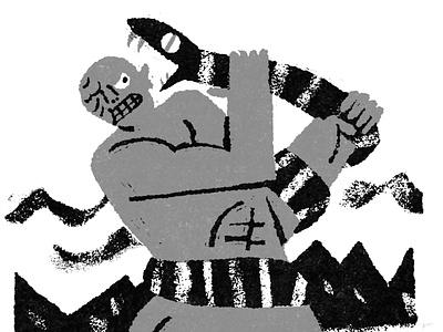 The Cyclops scifi horror movie fakeadsforrealmovies illustration