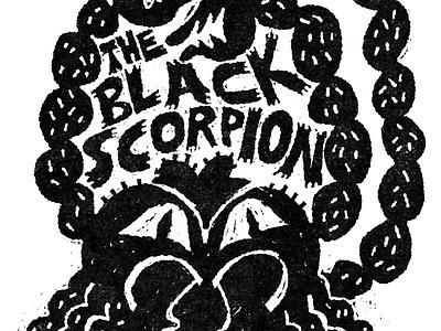 The Black Scorpion scifi horror movie fakeadsforrealmovies illustration