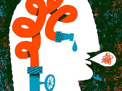 Alzheimer's alzheimers illustration editorial