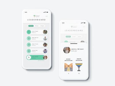 Leaderboard Mobile Apps Interface mobile apps design leaderboard interface leaderboard mobile apps interface mobile apps figma user interface app ux ui interface dailyuichallenge dailyui interface design design