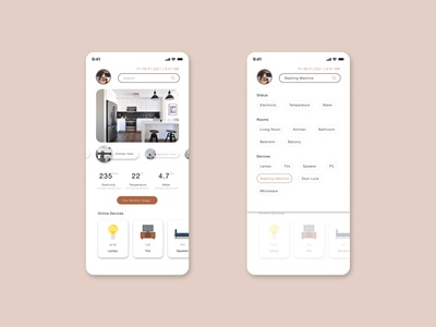 Smart Home Search Box smart home search smart home monitoring smart home app search mobile search feature search box search mobile apps interfacedesign figma user interface app interface design dailyuichallenge dailyui ux ui interface design