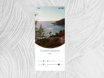 Music Player Interface interface design music app interface music player figma ux app design ui 009 dailyui dailyuichallenge