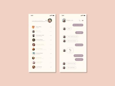 Direct Messaging Interface